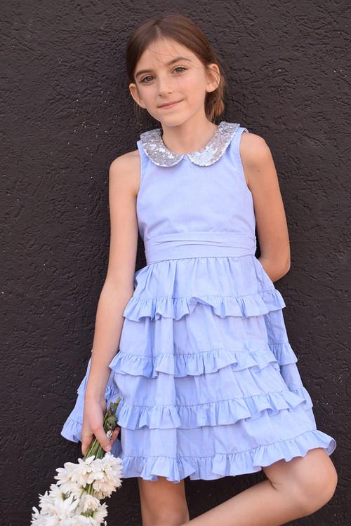 Sophie Catalou Girls Toddler & Kids Rowan Dress 18m-10y