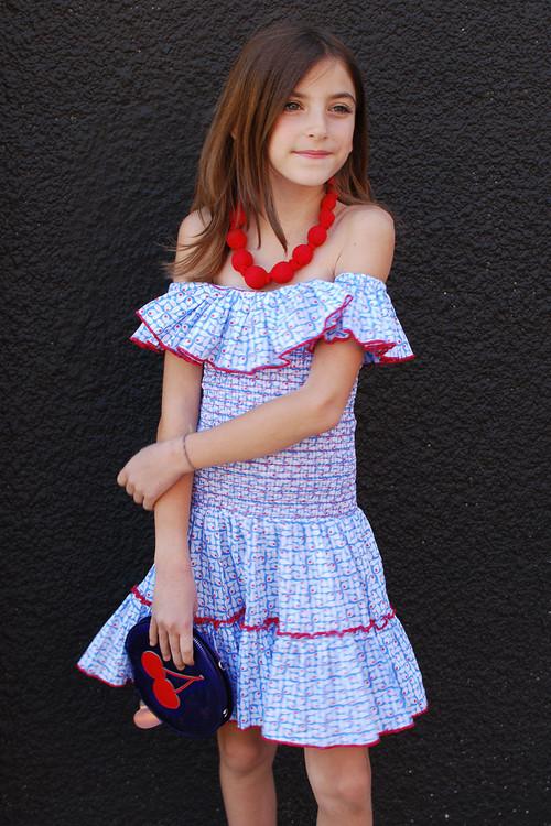 Sophie Catalou Girls Toddler & Kids Gala Dress 5-6y