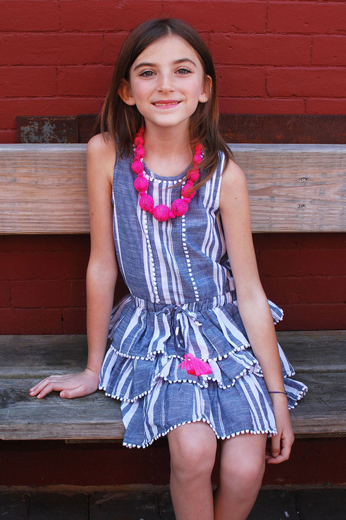 Sophie Catalou Girls Toddler & Kids Reagan Dress 2-8y