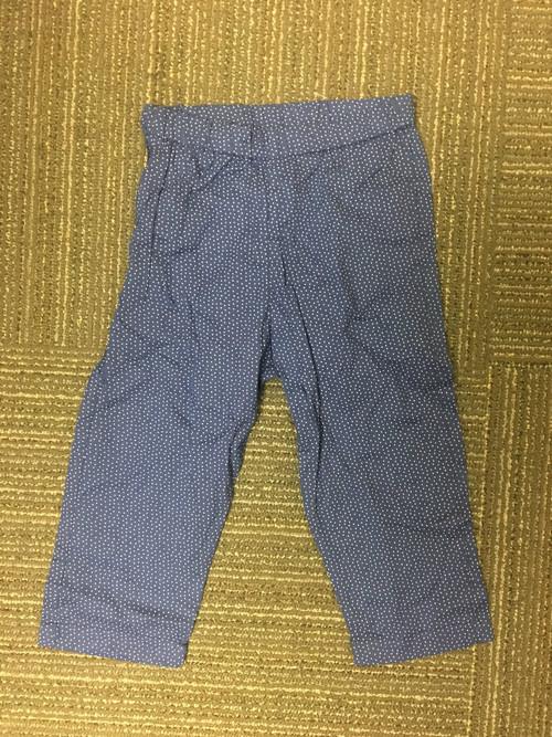 Sample Sale Navy Polka Dot Pants