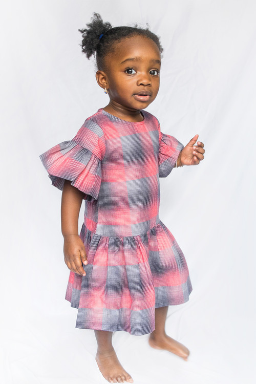Sophie Catalou Girls Toddler & Kids Plaid Irina Dress 2-10y