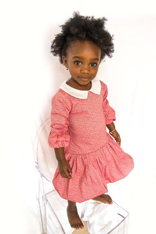 Sophie Catalou Girls Toddler & Kids Ditsy Lilia Dress 18m-8y