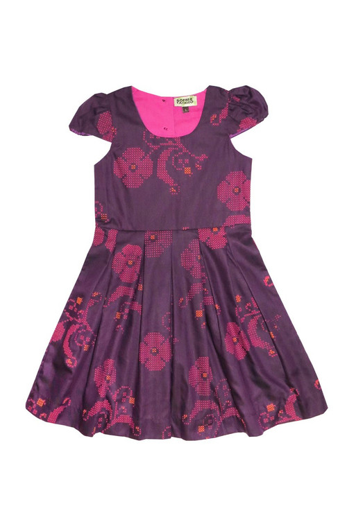 Sophie Catalou Girls Toddler & Kids Cleo Pleated Dress 2-10y