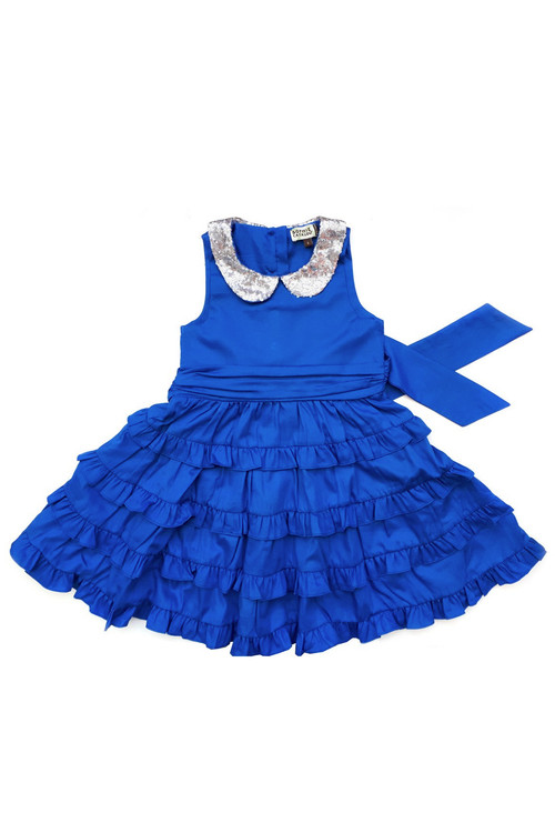 Sophie Catalou Girls Toddler & Kids Royal Betsy Dress 2-10y
