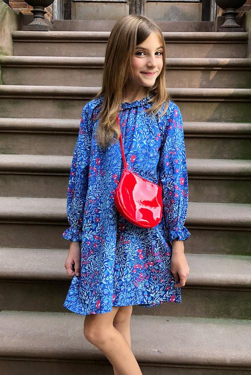 Sophie Catalou Girls Toddler & Kids Adela Raglan Dress 2-8y