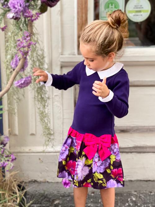 Sophie Catalou Girls Toddler & Kids Naima Drop-waist  Dress 2-10y