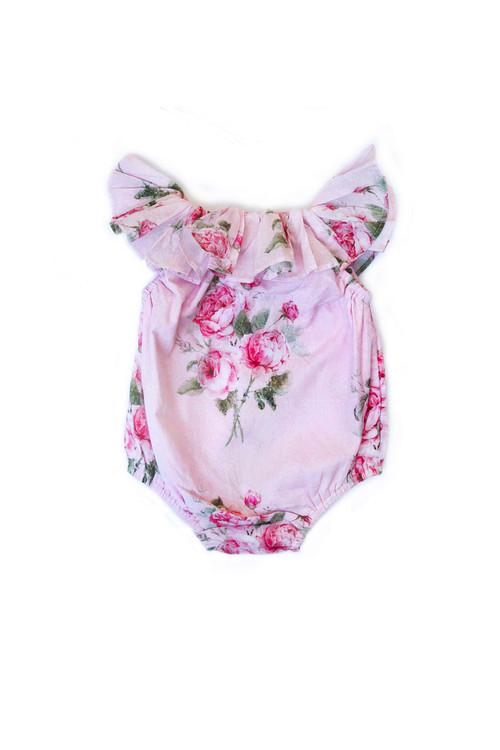 Sophie Catalou Infant Kaya Floral Romper