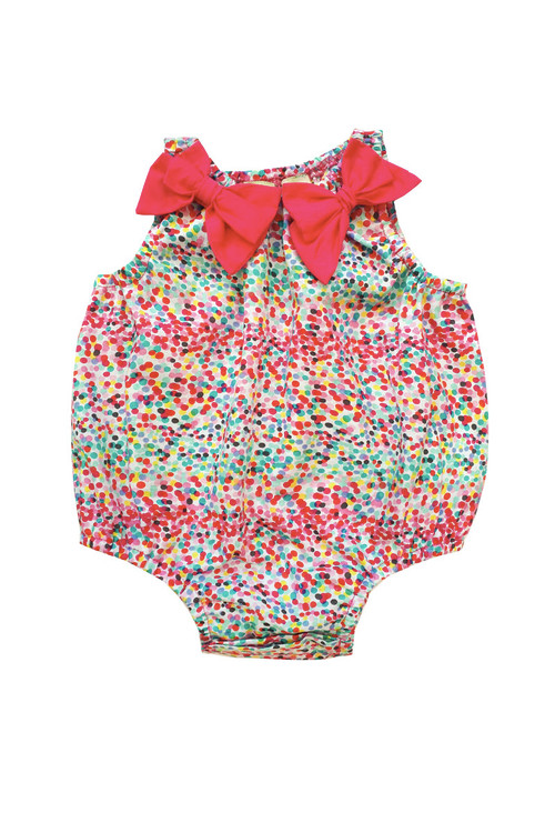 527e66e43916 Sophie Catalou Girls Infant Leah Bubble Romper 3m-12m