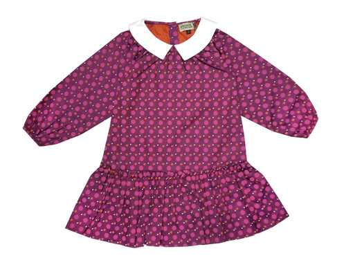 Sophie Catalou Girls Toddler & Kids Purple Vanina Dress 2-8y