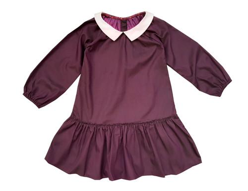 Sophie Catalou Girls Toddler & Kids Purple Violette Dress 2-8y