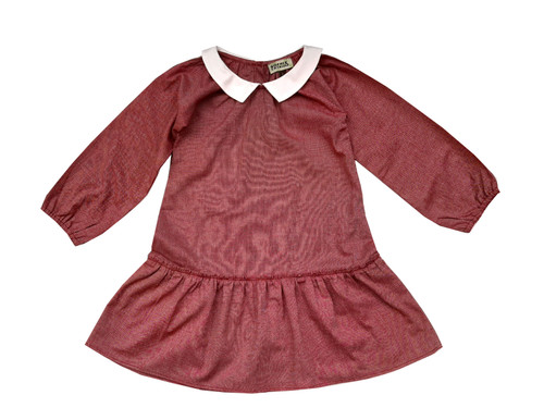 Sophie Catalou Girls Toddler & Kids Red Violette Dress 2-6y