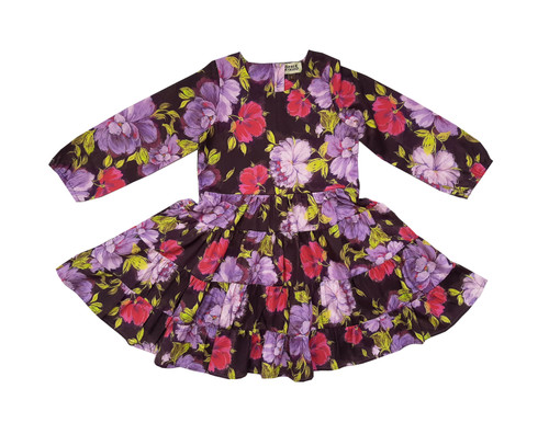 Sophie Catalou Girls Toddler & Kids Violet Alena Dress 3-10y