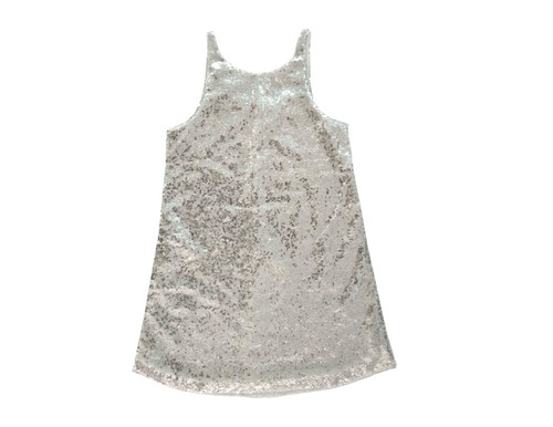 Sophie Catalou Girls Toddler & Kids Silver Angelina Dress 2-8y