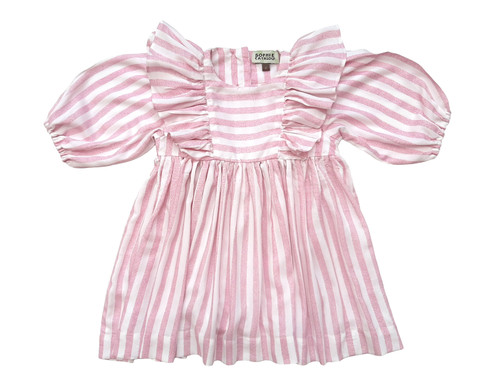SOPHIE CATALOU PINK STRIPE WANDA DRESS
