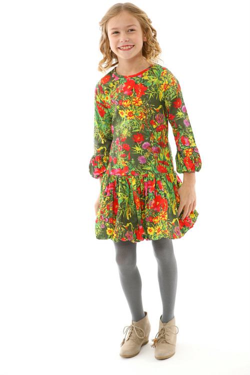 Sophie Catalou Girls Toddler & Kids Saskia Natalia Dress 2-10y