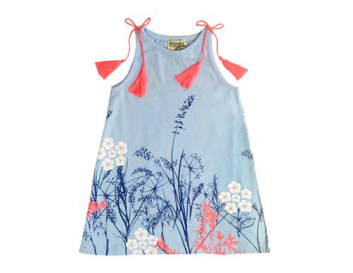Sample Sale Blue Amenia Knit Dress