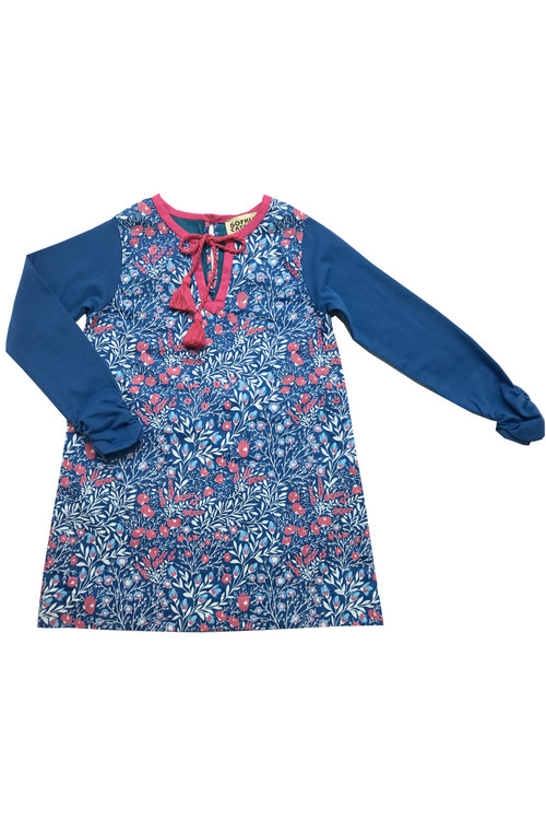 Sophie Catalou Girls Toddler & Kids Toddler & Kids Royal Adela Shift Dress 4-6y