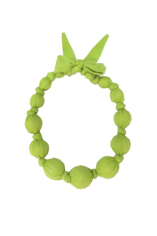 Sophie Catalou Girls Citron Bead Necklace