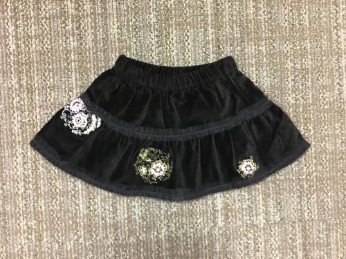 Sample Sale Velvet Skirt