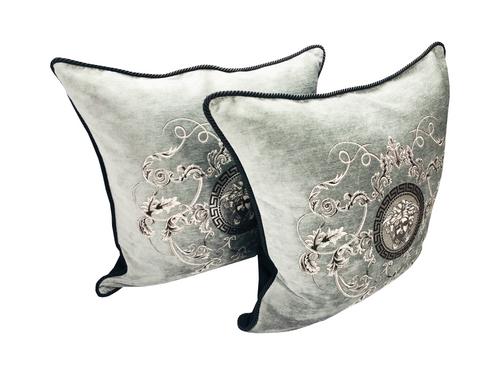 Mesuda Barocco Grey Large Pillow Set