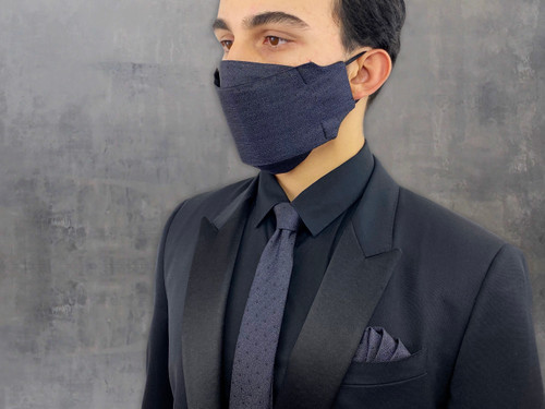 Face mask for Men's made in USA: Matching Mask & Tie Sets ALL COLORS & PATTERNS
