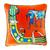 HandMade Silk Pillow, Made of Hermes Silk Scarf Horse