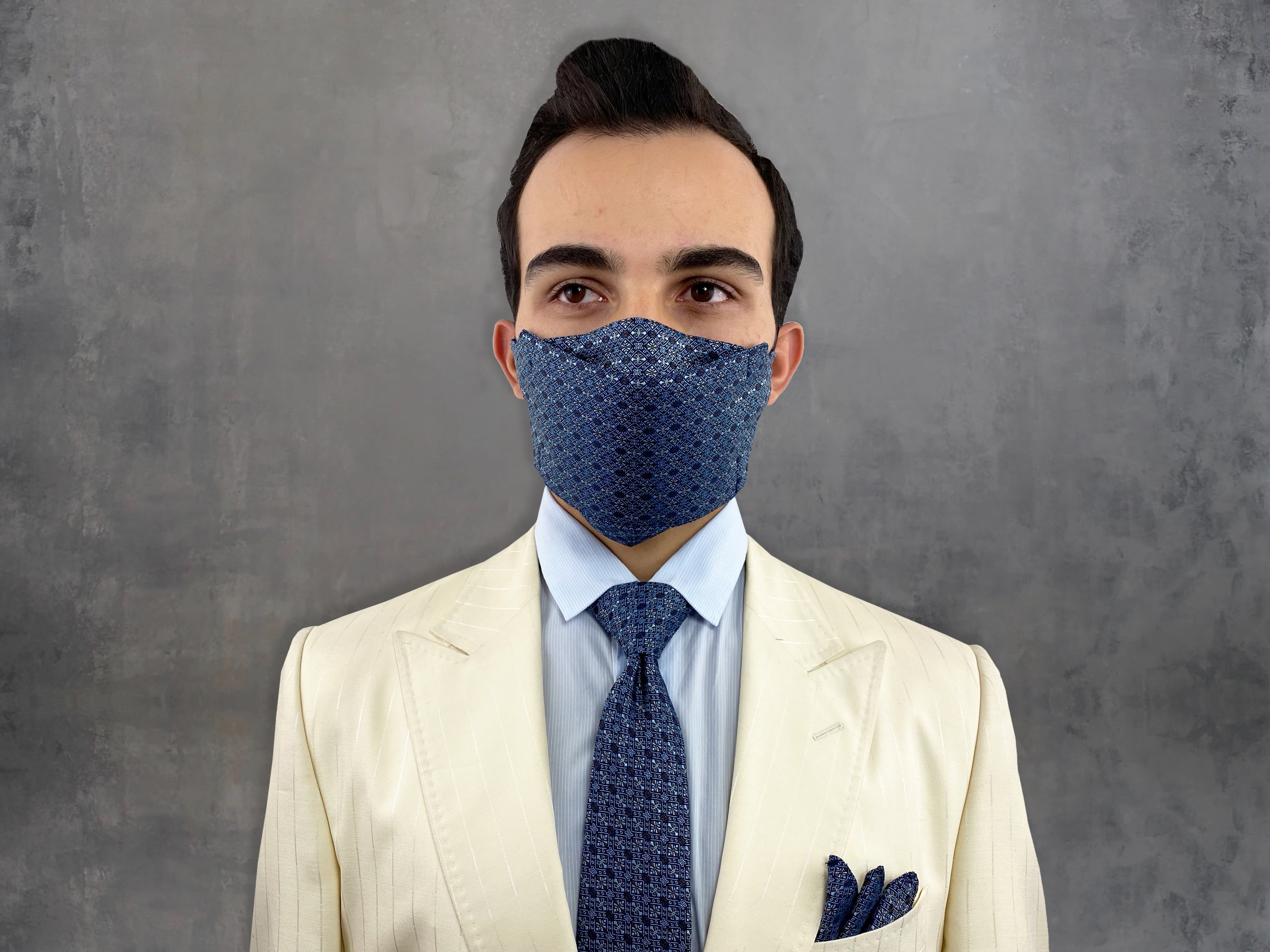 mask and tie combo