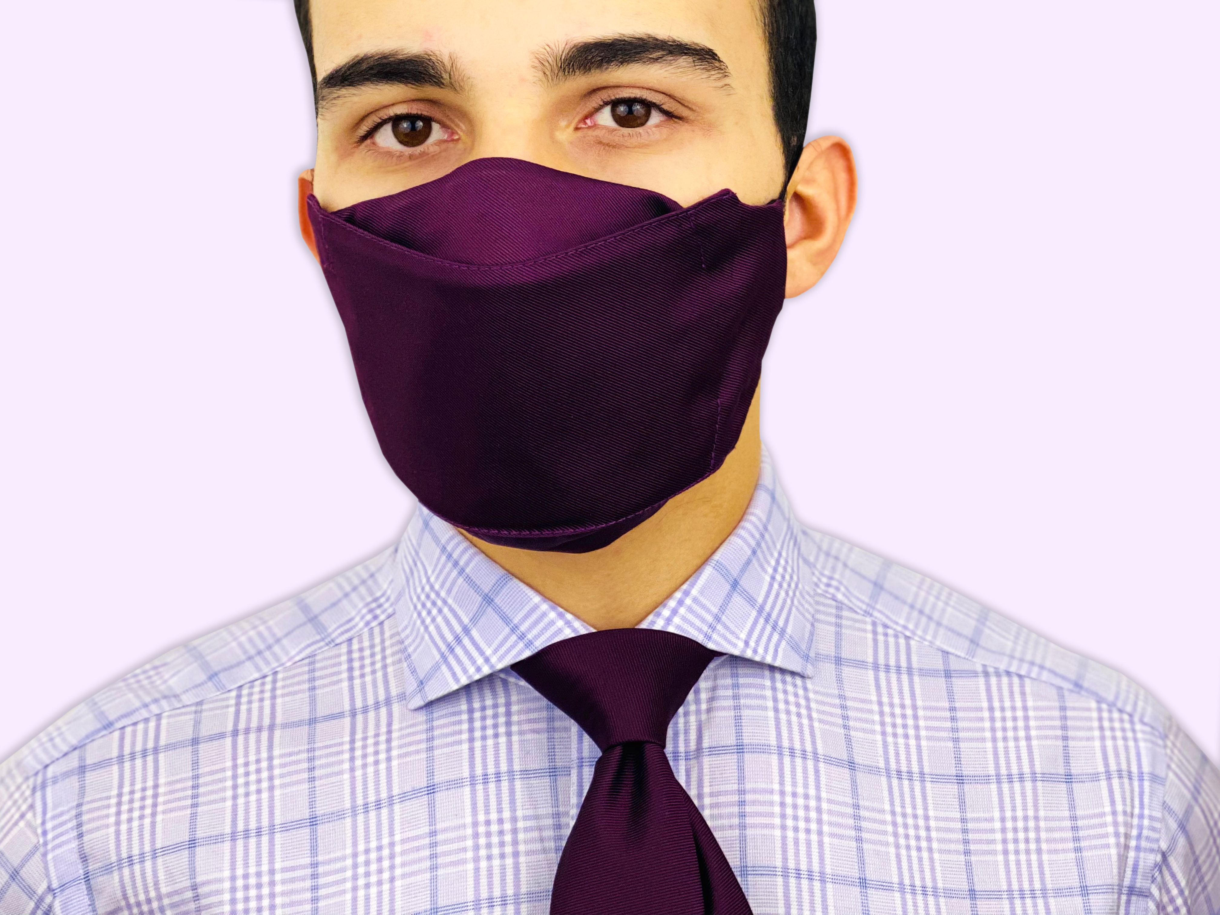 Best Christmas Gifts For Men. Face Mask Matching Necktie