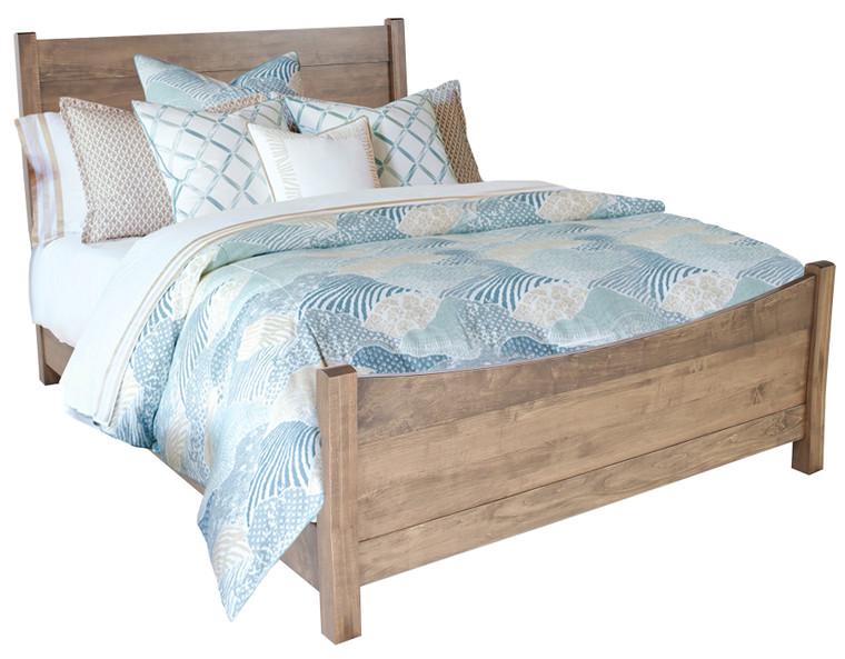 As Shown: Maple Sandstone, Size: Queen, Bed Storage: No