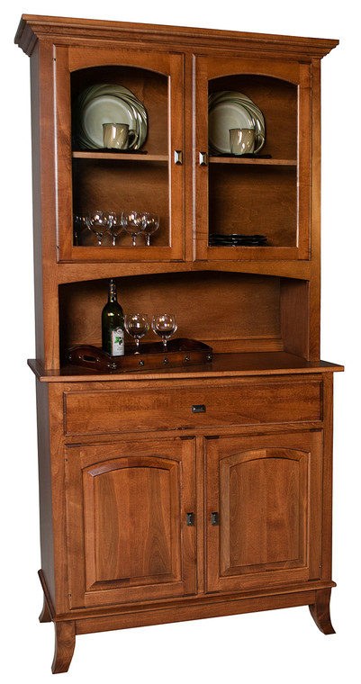 """As Shown: Maple Fawn, Size: 43"""" Wide, Hardware: 010710"""