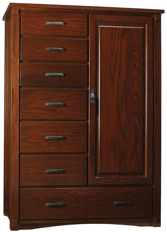 As Shown: Oak Garnet, Hardware: 300105 with 010805