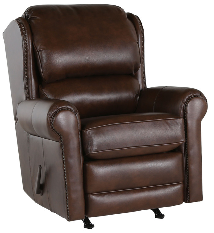 Annabelle Tate Crawley Rocker Recliner In Leather AT4645-66-L