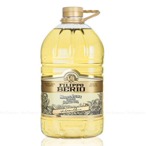 Filippo Berio Mild and Light in Colour Olive Oil Baking Deep Frying Roasting 5L