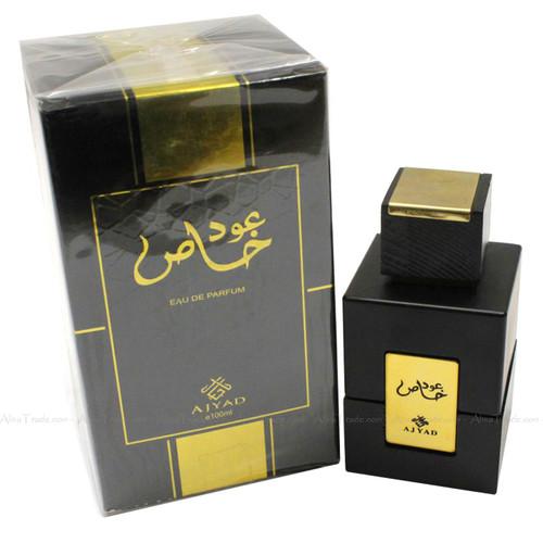 Oud Special by Ajyad Oudh Khus Khas Halal Fragrance Atar EDP Spray Perfume 100ml