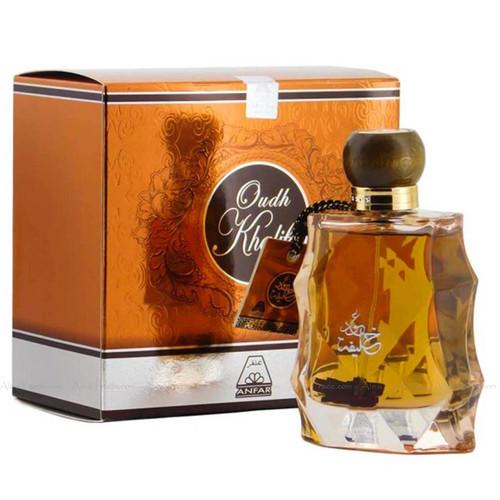 Oudh Khalifa Gold by Oud Al Anfar Halal Fragrance Attar EDP Spray Perfume 100ml
