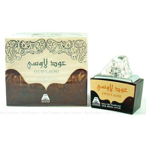 Oud Laosi by Oudh Al Anfar Woody Halal Fragrance Attar EDP Spray Perfume 100ml
