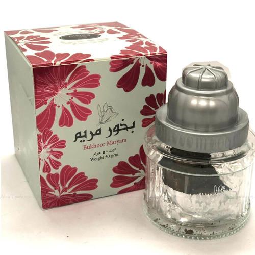 Bukhoor Maryam by Suroori Ard Zaafaran Home Fragrance Incense Smell Bakhoor 50g