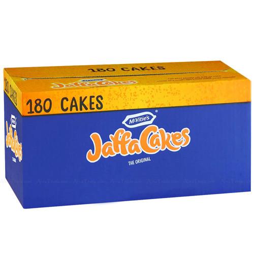 McVities Jaffa Cakes The Original 2.19kg Box 180 Cookies - 6 Packs x 30 Biscuits