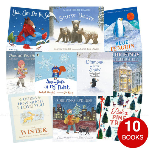 Christmas is Coming Child Kids Xmas Collection Ten Seasonal Stories 10 Books Set
