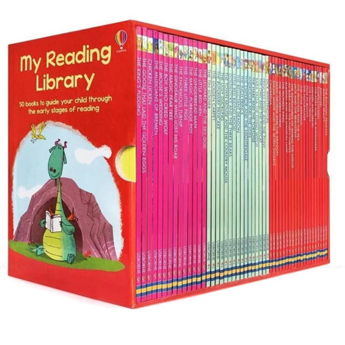 My Second Reading Library Usborne Child Classic Collection Story 50 Book Box Set