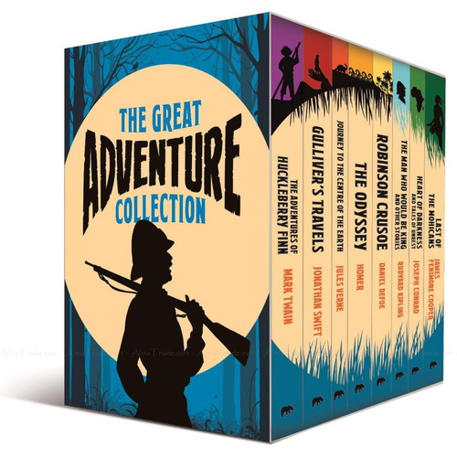 The Great Adventure Collection 8 Books +Journal Story Great Reads Series Box Set