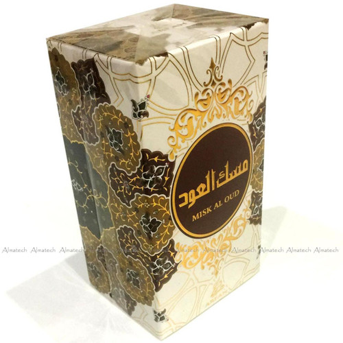 Misk Al Oud by Arfan Oudh Al Anfar Halal Fragrance Attar EDP Spray Perfume 100ml