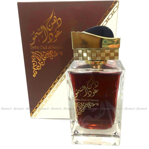 Dehn Oud Al Samou by Ard Zaafaran Halal Fragrance Attar EDP Spray Perfume 90ml
