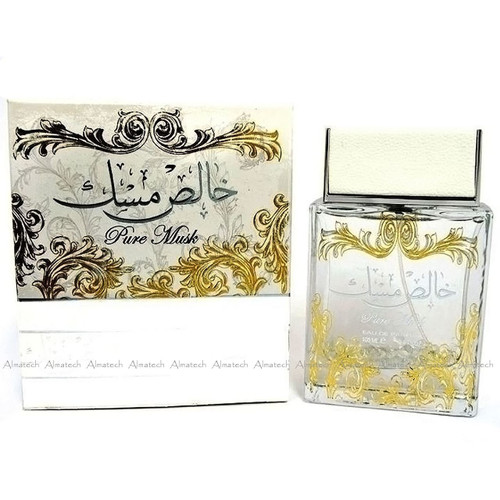 Khalis Pure Musk by Lattafa Halal Fragrance EDP Spray Perfume 100ml