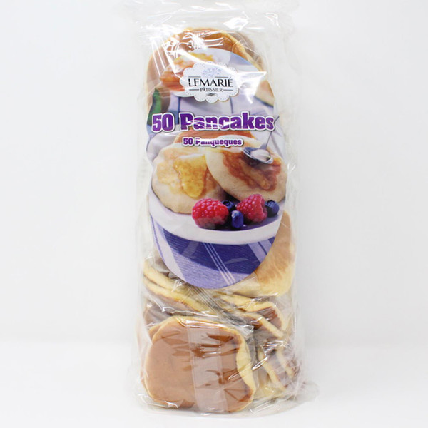 Lemarie Patissier American Style Panqueques Mini Pancakes - Pack Set of 50 x 20g
