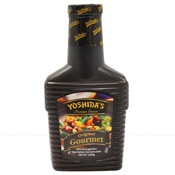 Yoshida's Gourmet Sauce Cooking Original Marinade BBQ Ribs Wings - Pack of 1360g