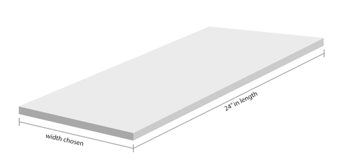 """EG-PW-19100 - .100"""" / 2,5mm - (12 x 24"""")"""