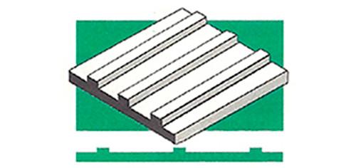 "EG-BB-4543 - (GS) .100"" / 2,5mm | (RW) .020"" / 0,50mm"