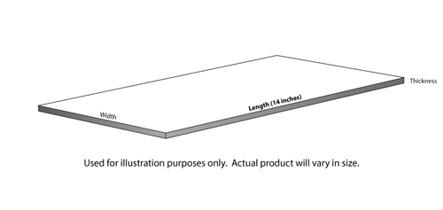 "EG-8210 - (HO - 1/8 Scale) - 2"" x 10"" - .022 x .112"" / 0,6 x 2,8mm (10 / Pkg)"