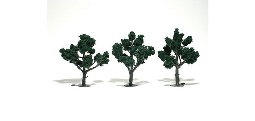 "Trees 4-5"" Dark Green 3/"